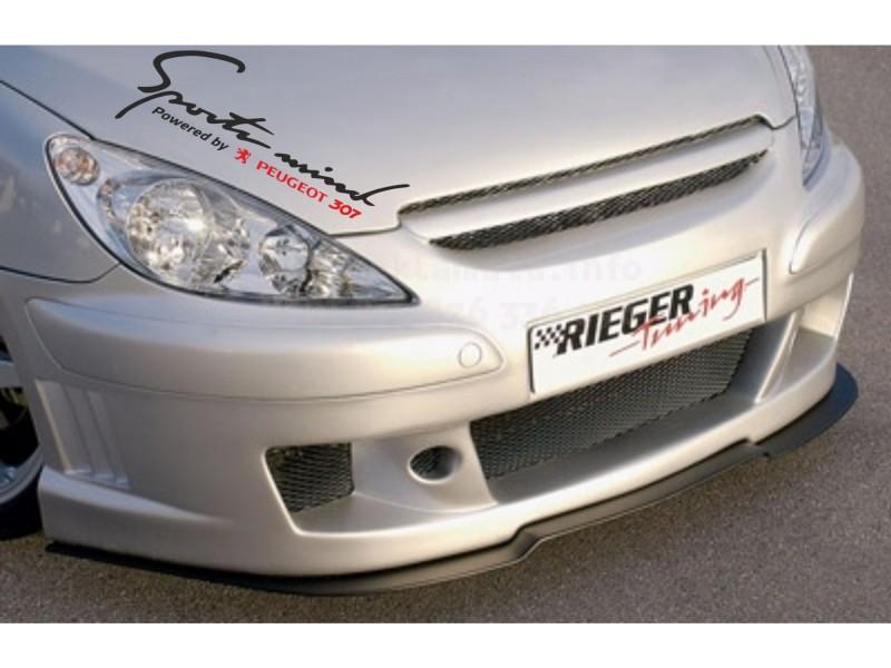 Sport mind  стикер за кола Пежо 307