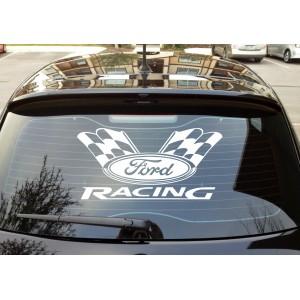 Стикер за задно стъкло Форд Ford racing
