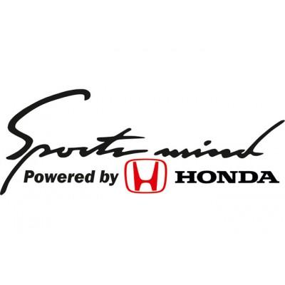 Sport mind Honda Стикер
