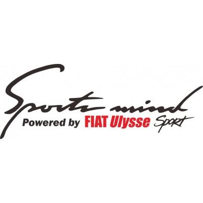 Sport mind Fiat Ulysse  стикер