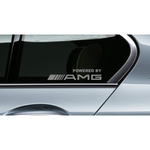 Два броя за страничните прозорци Powered by AMG