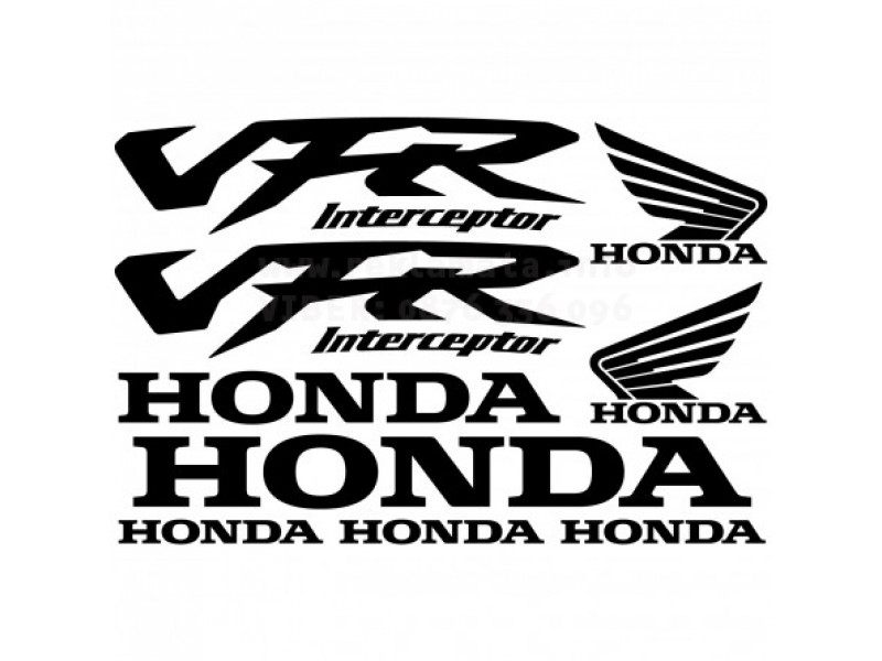 Комплект стикери за Хонда мотор VFR Interceptor