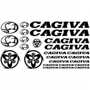 Комплект стикери за мотор Cagiva