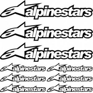 Alpinestars стикери комплект Алпинстар