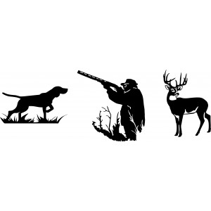 Комплект стикери за ловци
