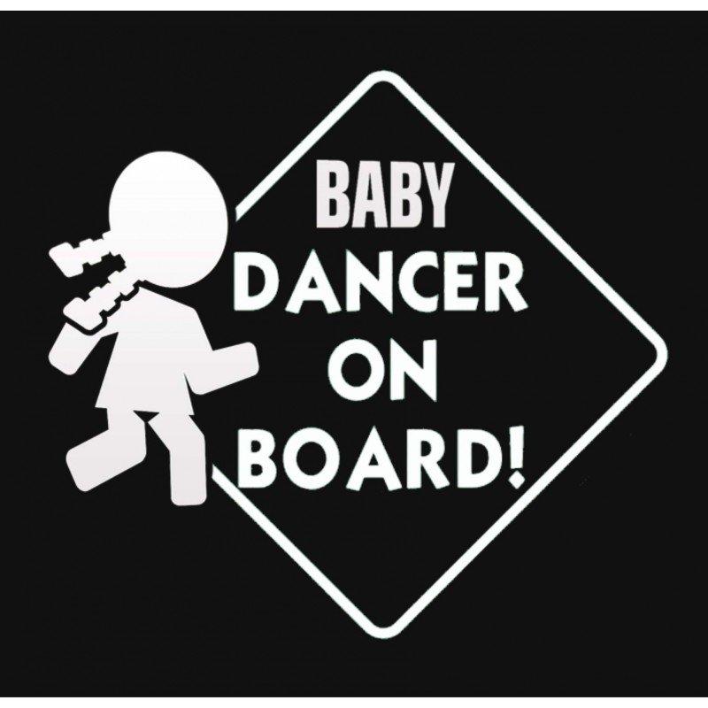 Танцуващо бебе в колата Baby Dancer