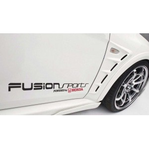 Стикери за коли Хонда Fusion Sports Powered by Honda