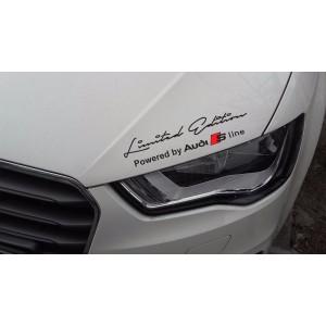 Стикер за кола Ауди Limited edition Audi S Line