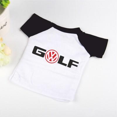 Малка тениска за кола Golf със закачалка и вендуза
