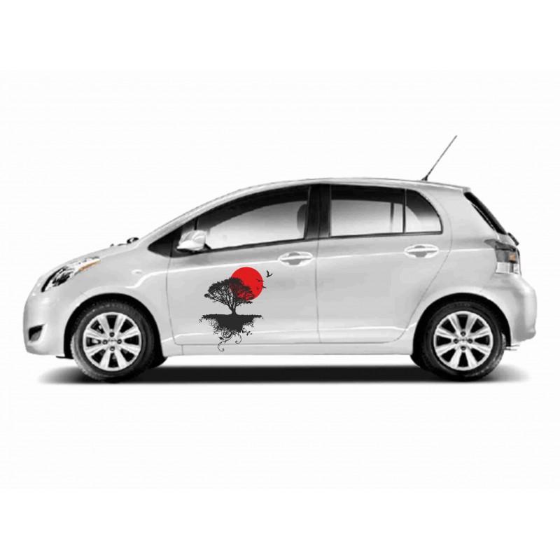 Стикер за кола Японско дърво
