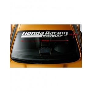 Стикер за преден или заден прозорез на хонда