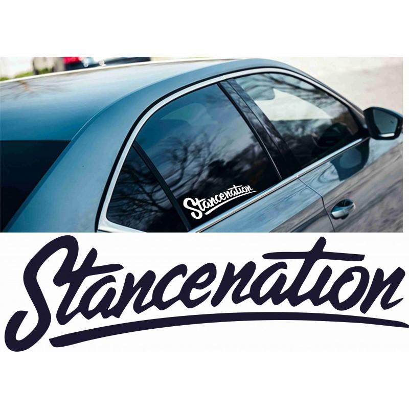 Стикер за кола Stancenation