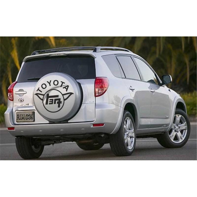 Стикер за резервна гума Рав 4 Тойота