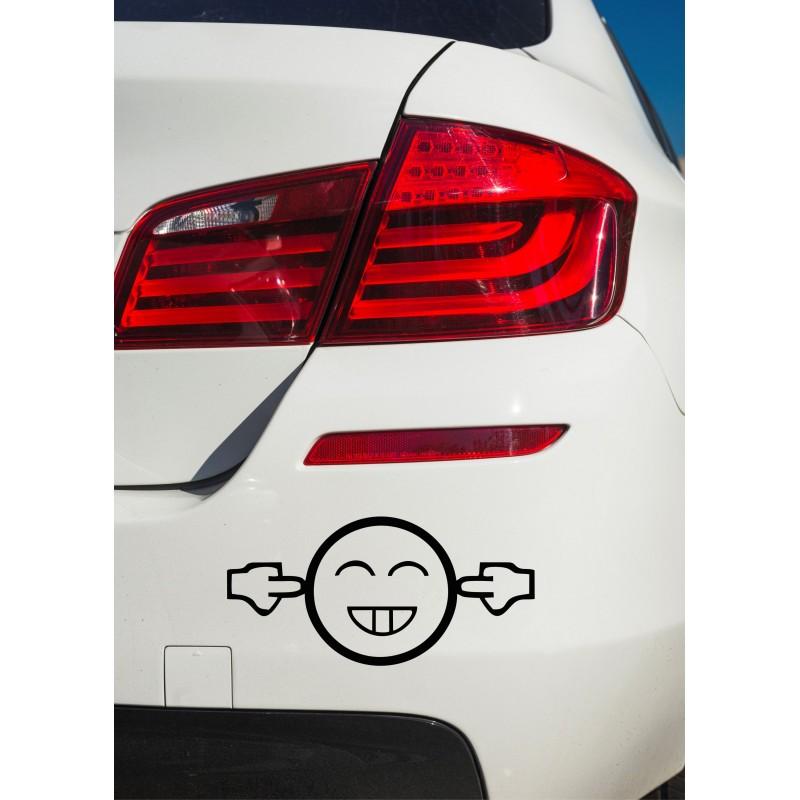 Забавен стикер за кола too loud?