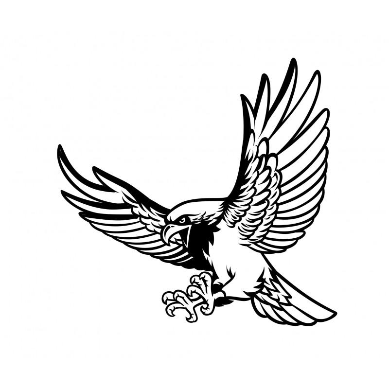 Стикер Орел за преден капак