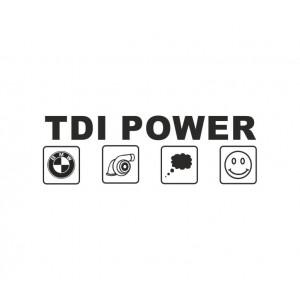 Стикер TDI Power