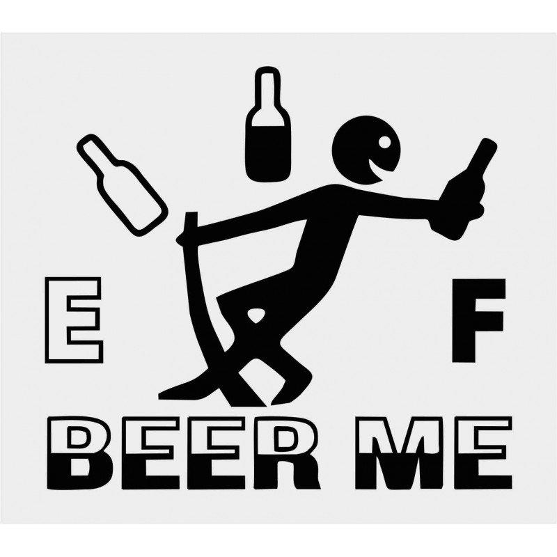 Стикер Beer me