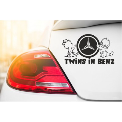Стикер Twins in Benz