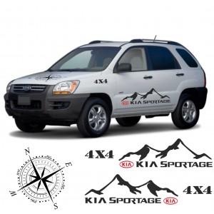 Стикери Kia Sportage