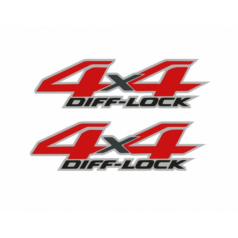 Стикер 4х4 Diff lock