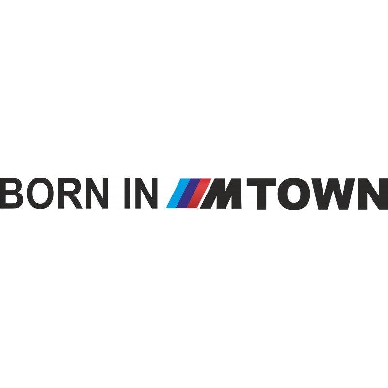 Стикер Born in Mtown
