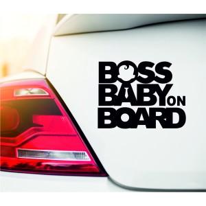 Boss baby стикер