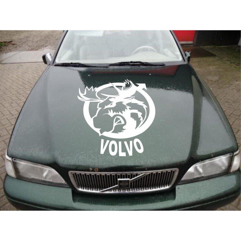 Стикер за преден капак Лос Volvo