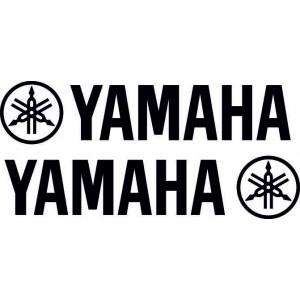 Лого ямаха, тунинг стикер, 2 броя за лява и дясна страна, кола, мотор , скутер