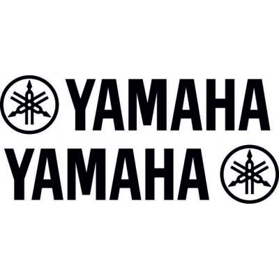 Лого ямаха, тунинг стикер, 2 броя за лява и дясна страна, кола, мотор , скутер, yamaha