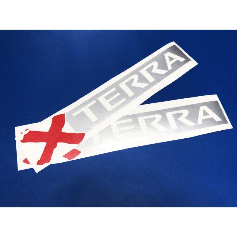 Стикери за Нисан x terra 2 броя