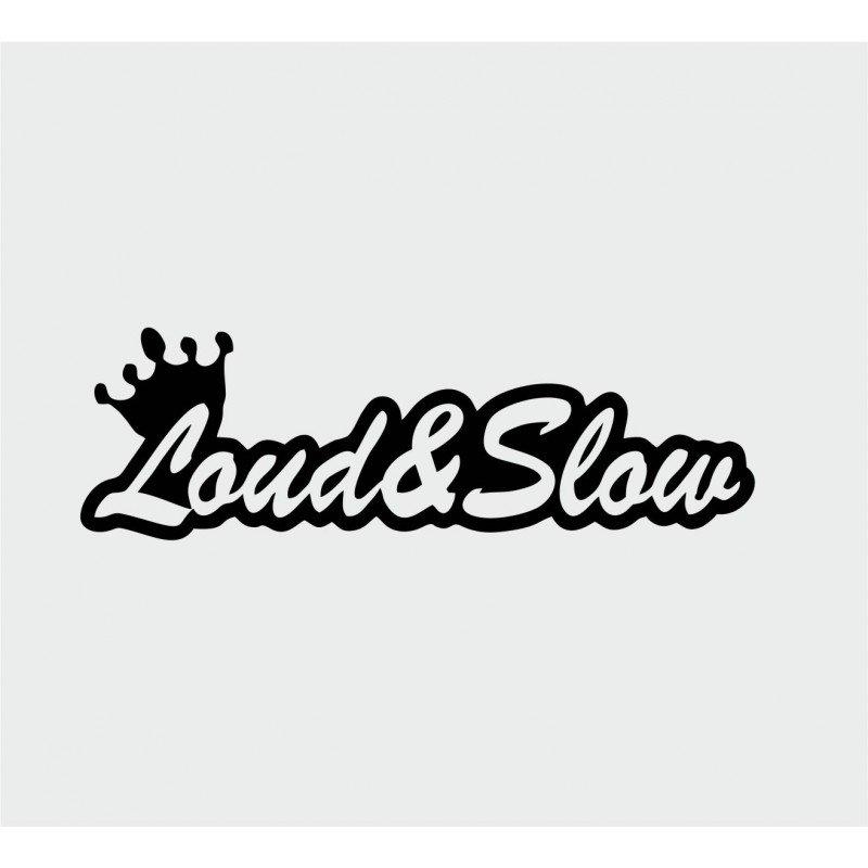 Стикер Loudandslow