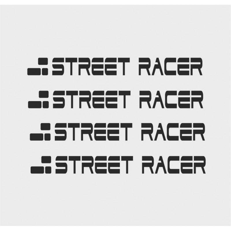 Стикери за дръжките на вратите Street racer
