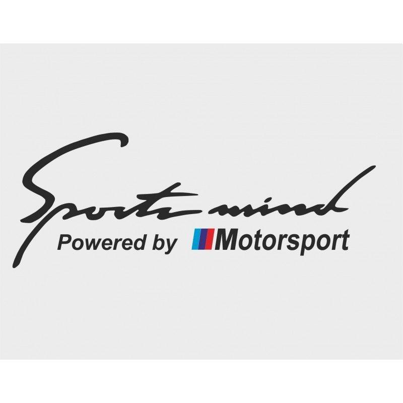 Стикер Sport mind Motorsport