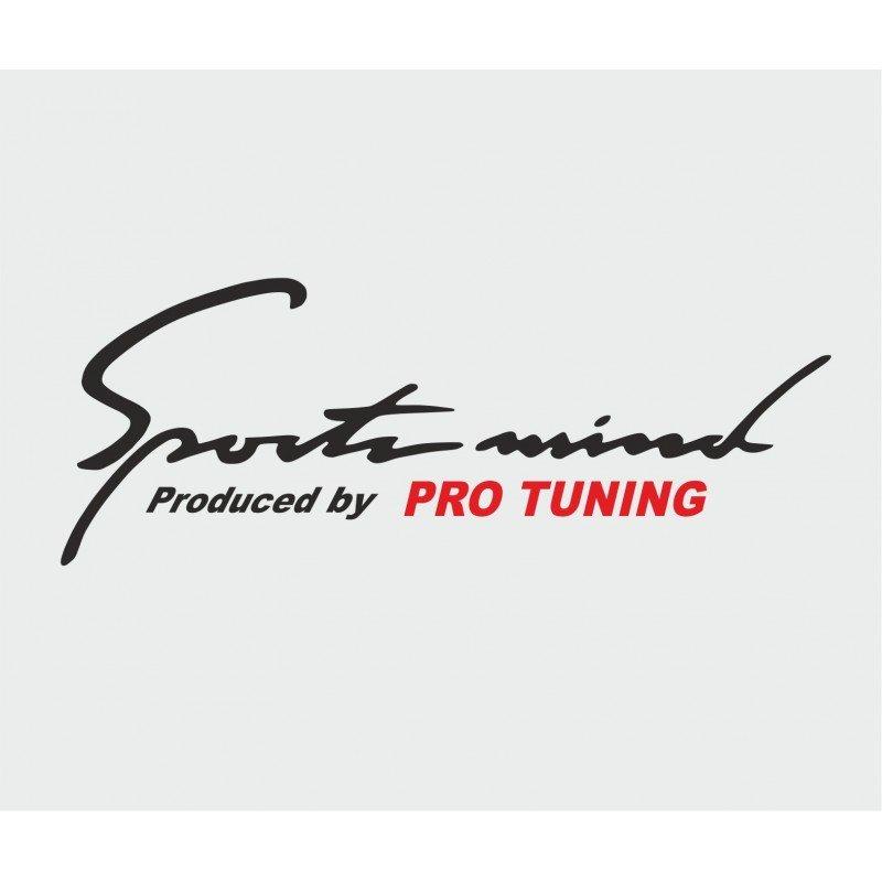 Стикер Sport mind pro tuning