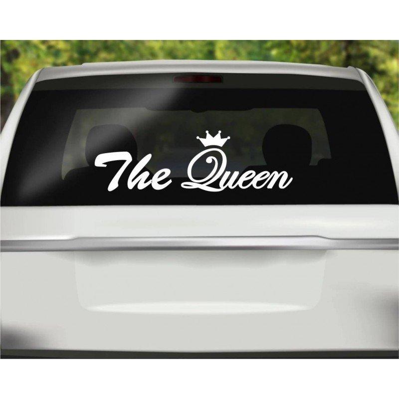 Стикер Кралица в колата