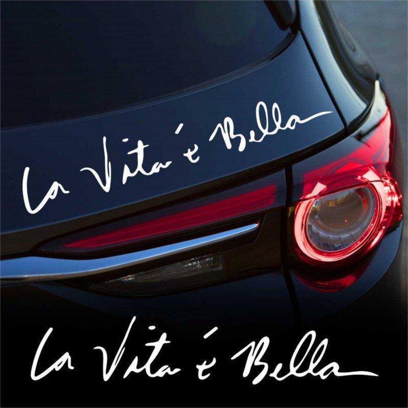 Стикер La vita e bella