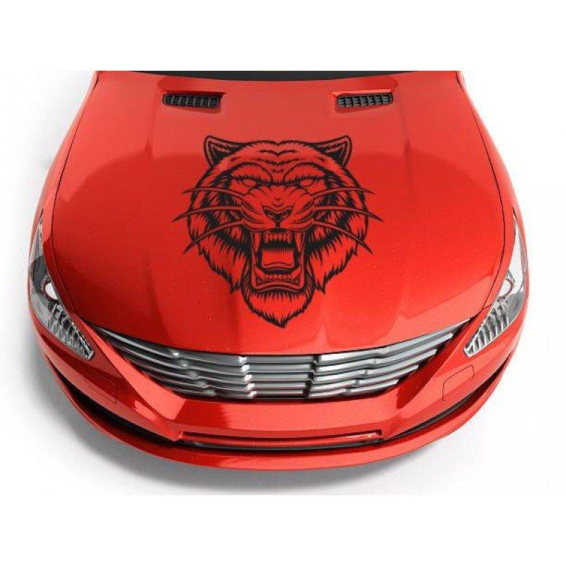 Стикер Съблезъб тигър