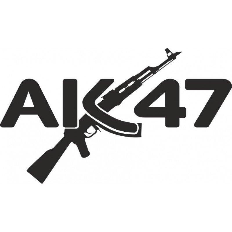 Стикер Калашников АК-47
