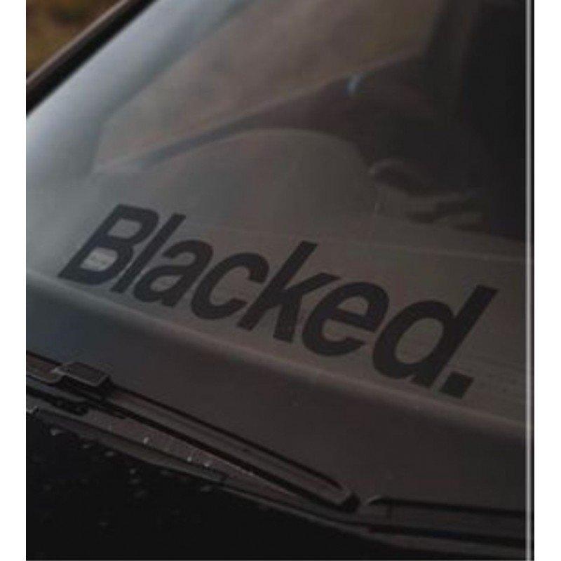 Стикер Blacked