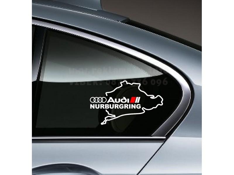 Винилов стикер NURBURGRING  Нюрбургринг
