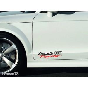 Два броя състезателни стикери Ауди Audi Racing