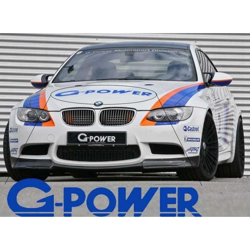 BMW G Power Motorsport M3 M5 M6 E36 E39 E46 E63 E90 стикер пвц лепенка