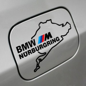 BMW M NURBURGRING M3 M5 M6 328 стикер за капачката на резервоара
