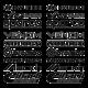 Тунинг комплект стикери 17