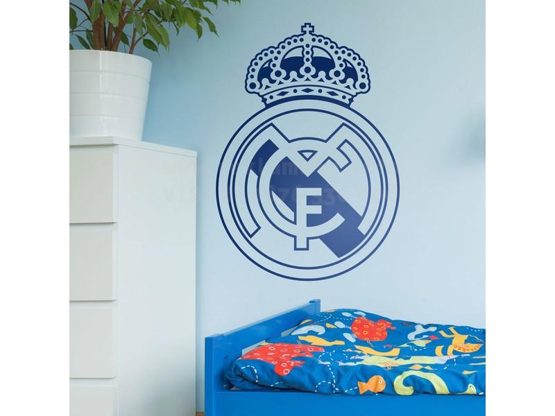 Стикер , лепенка за стена Реал Мадрид