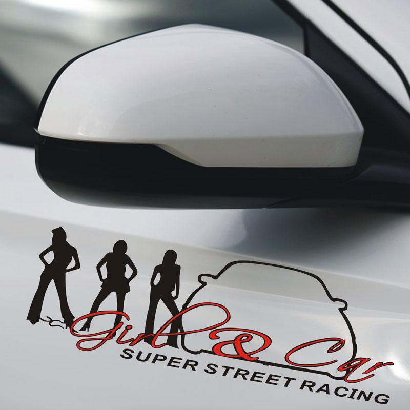 Super street racing, стикер, лепенка за кола, автомобил, страница, преден фар, халоген