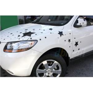 Звезди, стикер, лепенки, 50 бр за автомобил