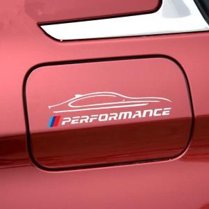 Стикер за капачката на автомобила, нов модел BMW performance