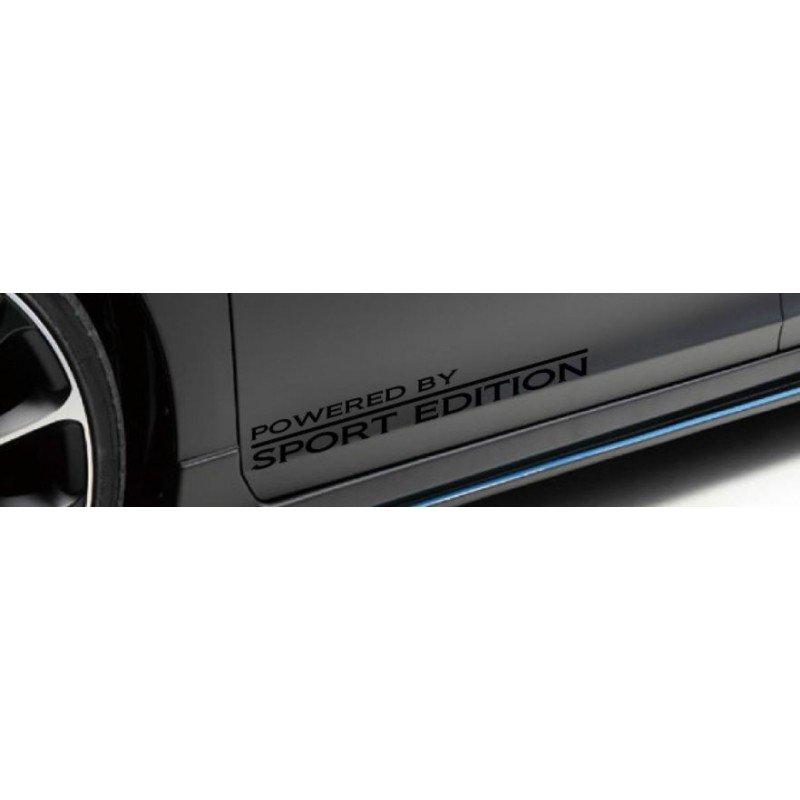 Стикер за кола, праговете, POWERED BY SPORT EDITION два броя