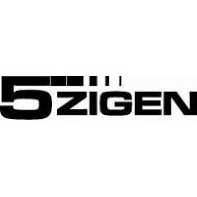 5Zigen лепенка , състезателна за автомобил, тунинг стикер, лого